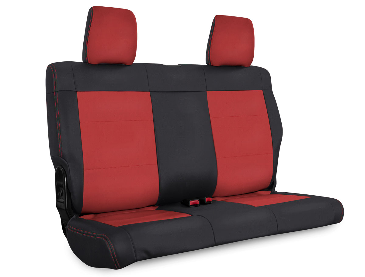 Jeep Seat Covers >> Rear Seat Covers For 07 12 Jeep Wrangler Jk 2 4 Door Prp Seats