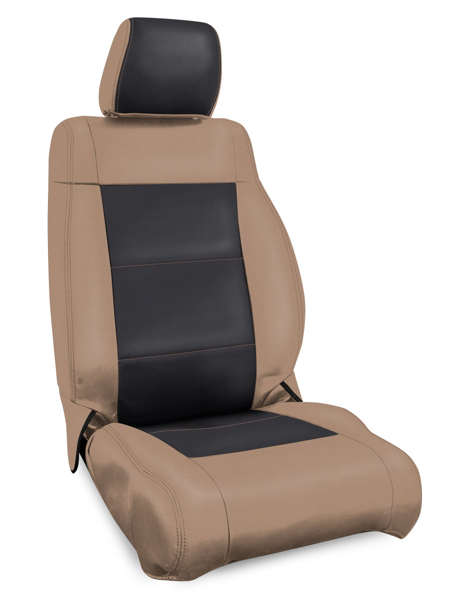 Jeep Seat Covers >> Front Seat Covers For 07 12 Jeep Wrangler Jk 2 4 Door Prp Seats