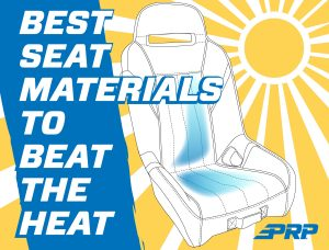 Whats the best seat material that wont get hot in the sun?