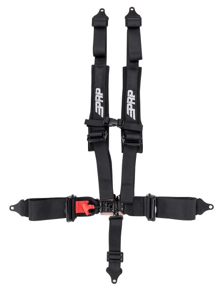 PRP 5 point harness with 3 inch lap and 2 inch shoulder straps