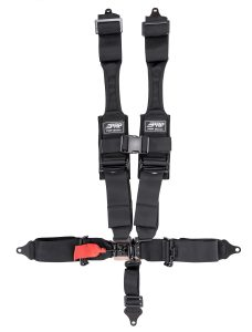 PRP 5 point harness with HANS compatible shoulder straps