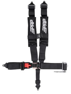 PRP 5.3 Harness with padded shoulders and ratcheting lap belt