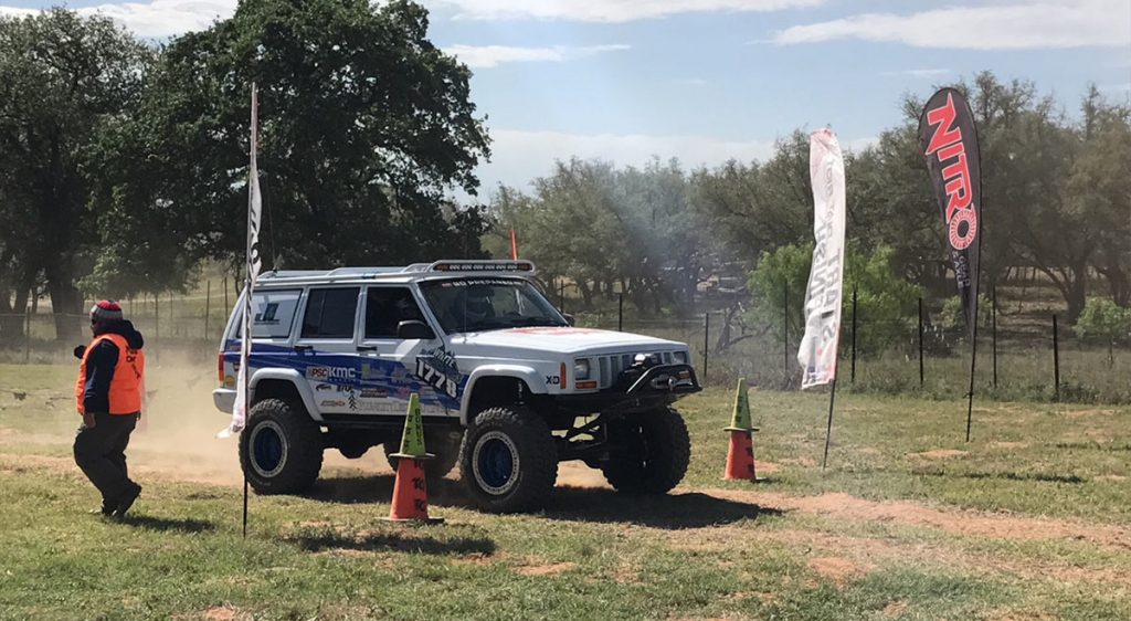 Off Road Jeep - Starting Race Position